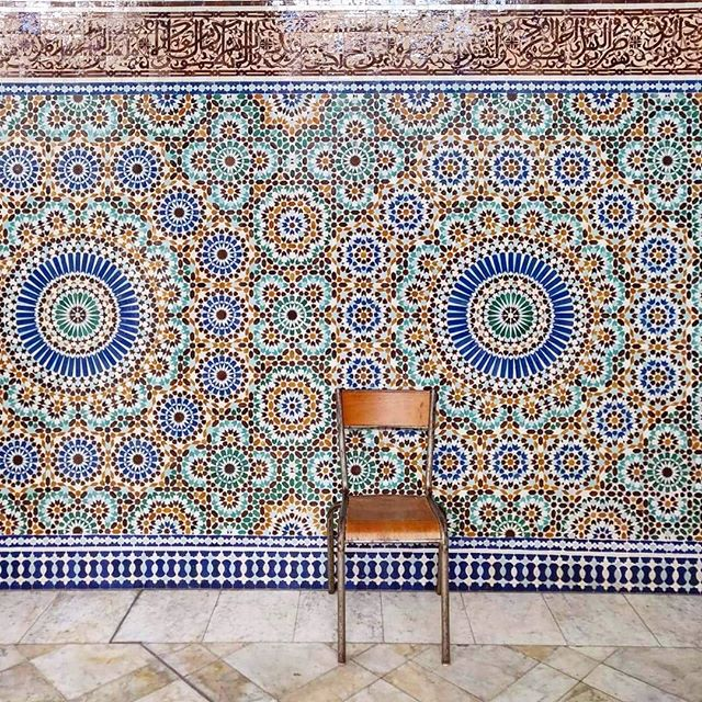 💙pretty patterns all over the place 💙 another hidden gem in a glorious city