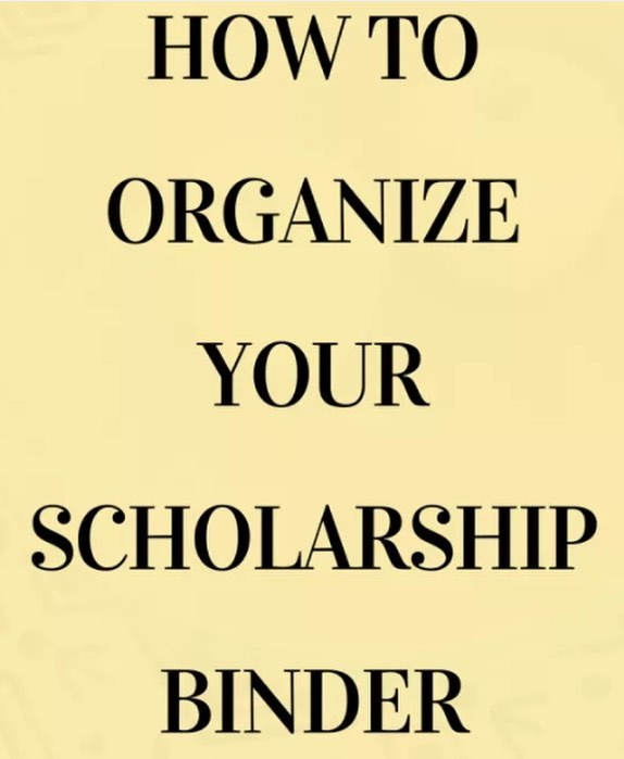 Seniors, have you started applying for scholarships but it's gotten overwhelming to keep up with all the info? Your solution: CREATE A SCHOLARSHIP BINDER! Read the article below for more details on how to create one. #TuesdayTip #ScholarshipRadar #CAMPMakesADifference ⠀ https://buff.ly/2yf48p0
