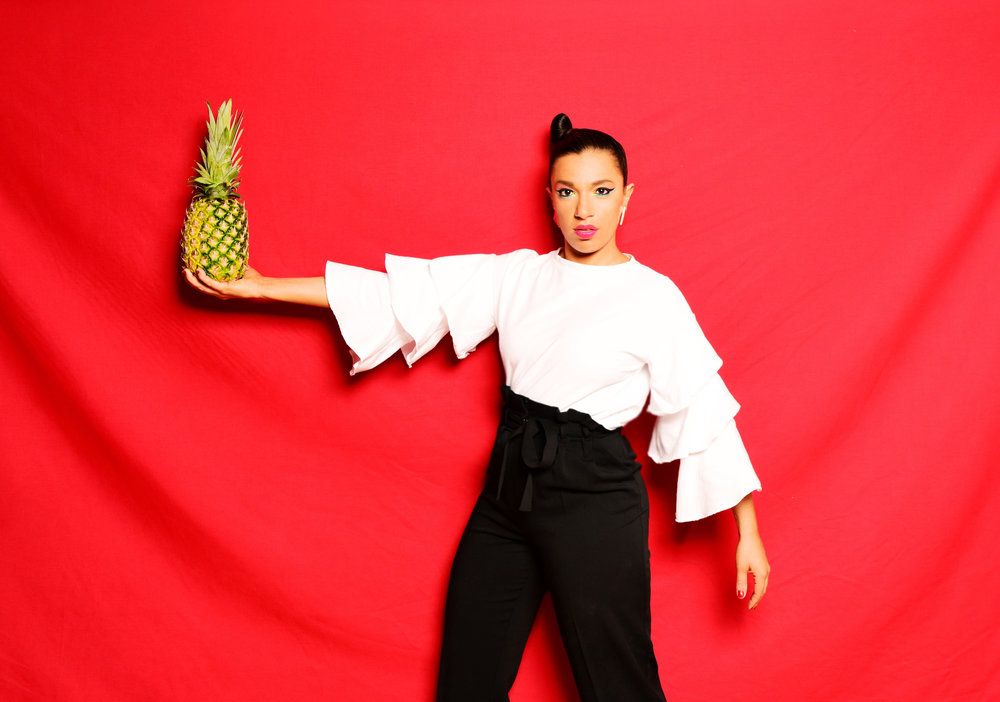 Magda Straight w pineapple_photo credit Shervin Lainez.JPG