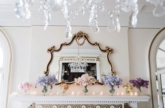 """Never underestimate fireplace decor, it adds such a beautiful accent to the room"" @llgevents we couldn't agree more!"