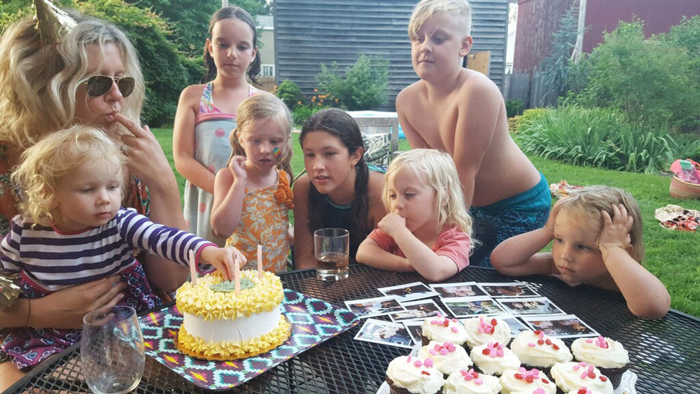 Celebrating my 40th with a bunch of munchkins!