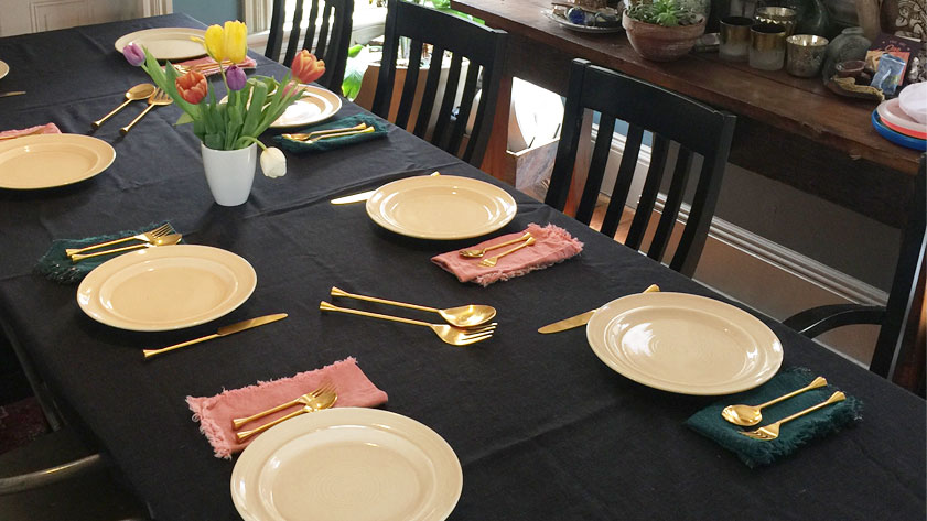 The table is set.