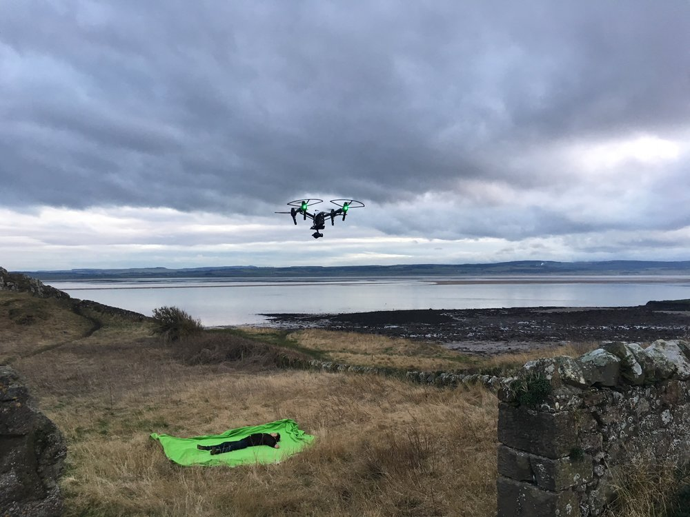 Drone filming