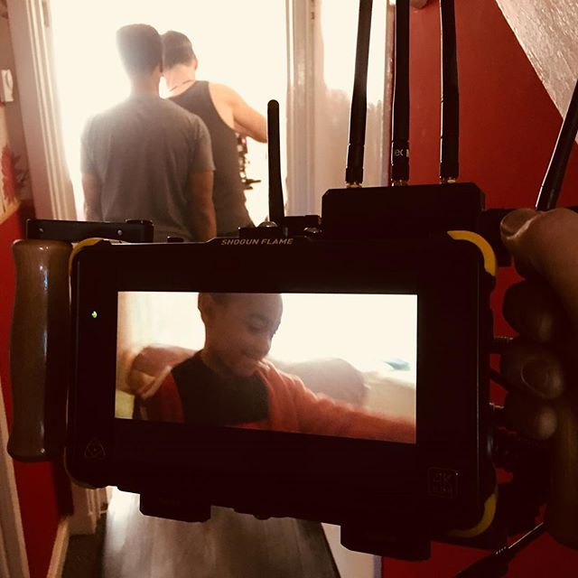 Day 7 REAL wrapped . . . #2ndac @realfeaturefilm @returnoftheakk @michaeledokeane @fizzgingerfilms  #indiefilm #britishfilm @thorlonningaarrestad