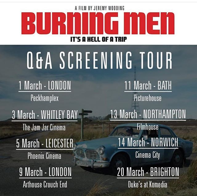 Happy to have provided camera assistance and drone filming for this forthcoming #britishfilm co. Written and directed by @jjwooding1. DoP @jonodop . . . #indiefilm #roadmovie #burningmenfilm #burningmenfilm #independentfilm #2ndac #pfco