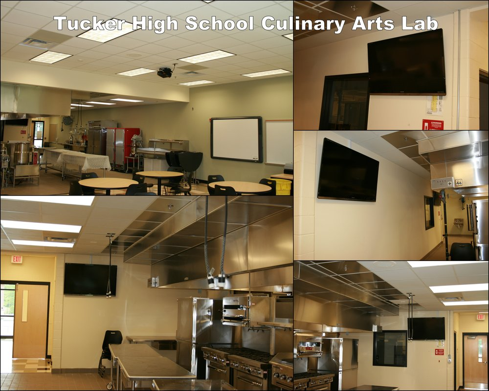 Tucker High Culinary Arts Lab collage.jpg