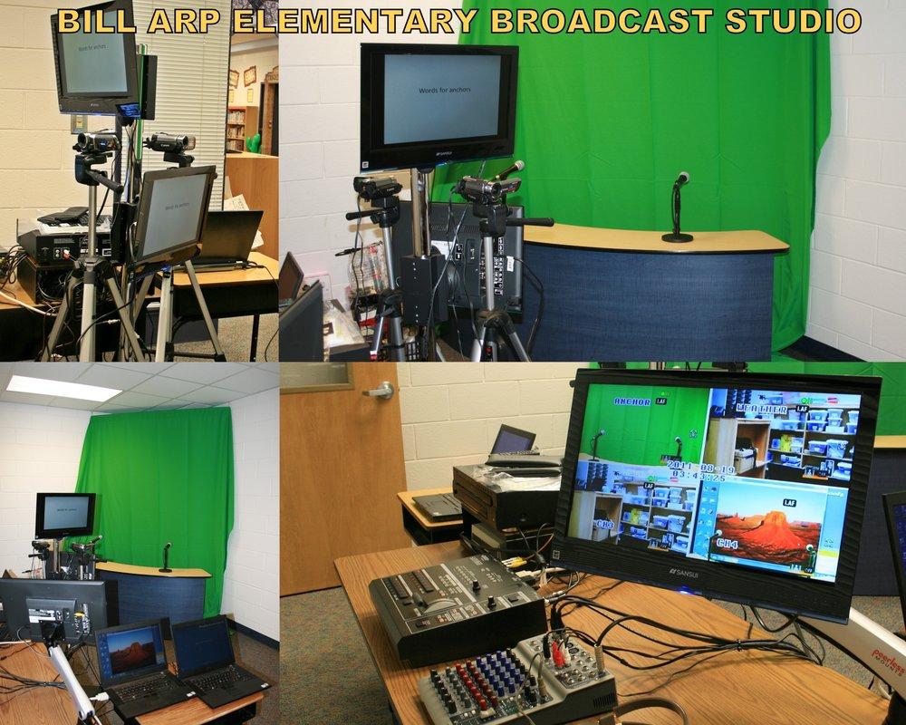Bill Arp Elem. Broadcast Studio.JPG