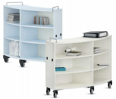 VS Shift+ Transfer Mobile Curved Bookcases