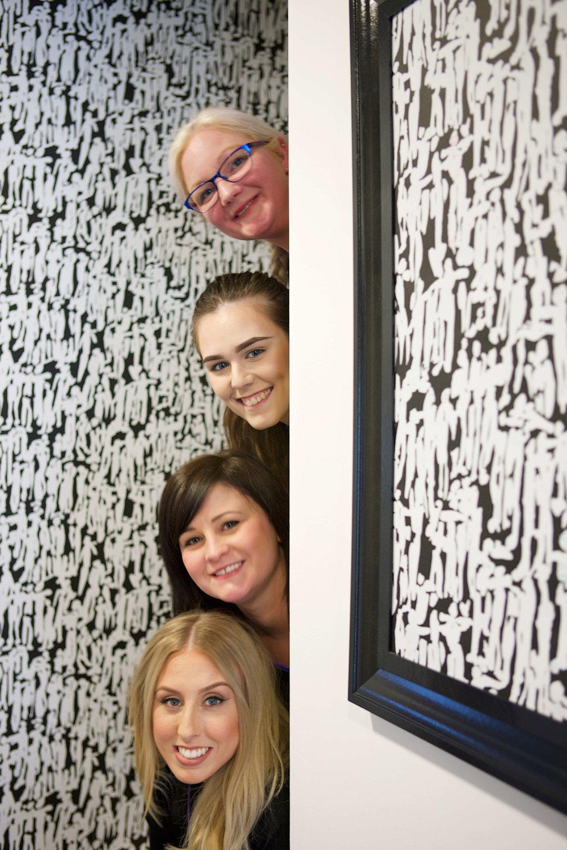 David Vaughan Dental girls in reception.jpg