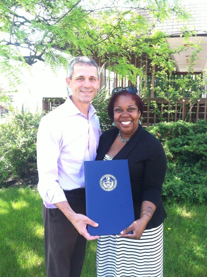 Rochelle Plummer Pennsylvania Self Sufficiency Award Winner -