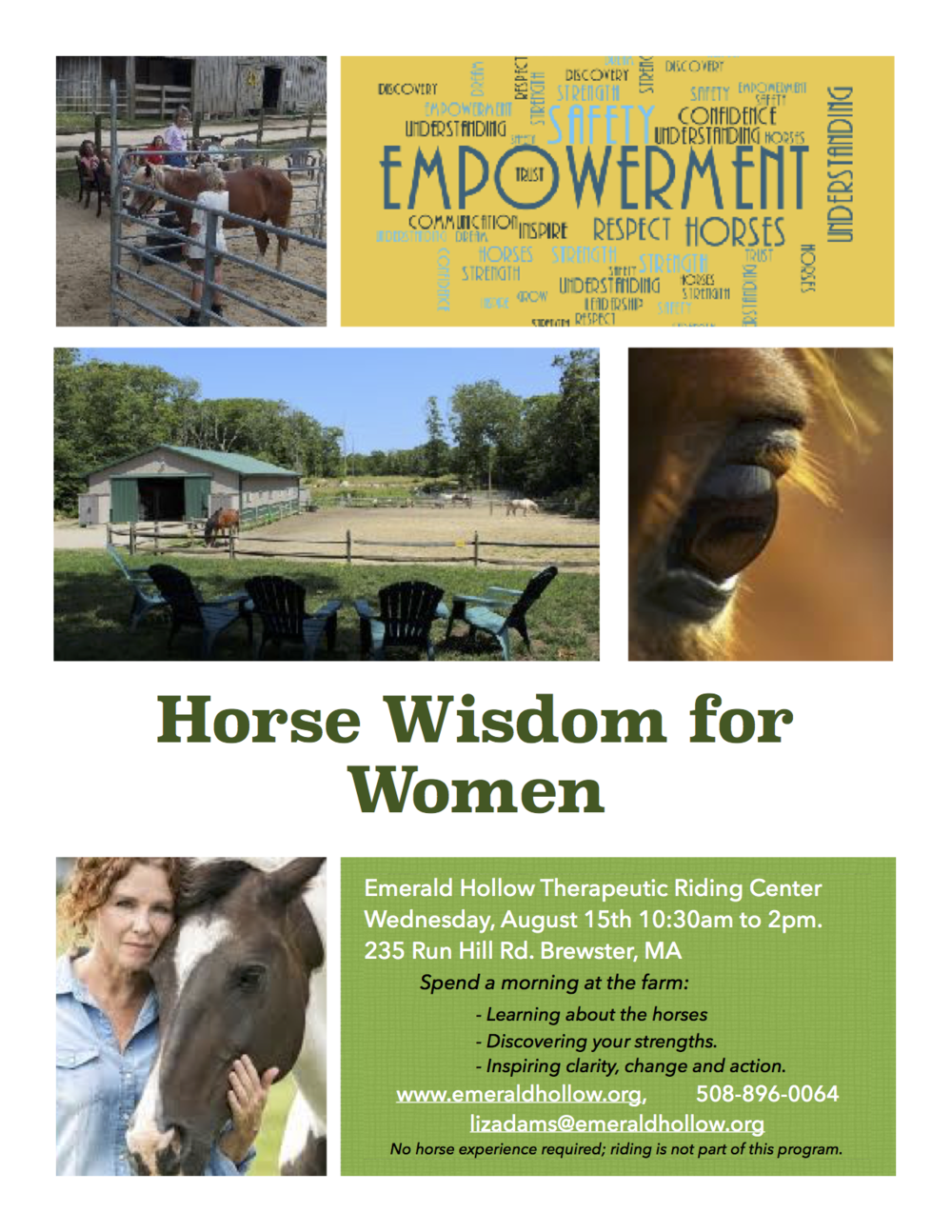 PNG Horse Wisdom for Women Flyer.png