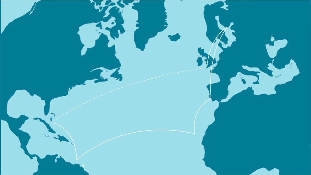 """""""Över 7000 sjömil,tvåkontinenter,en ocean�"""