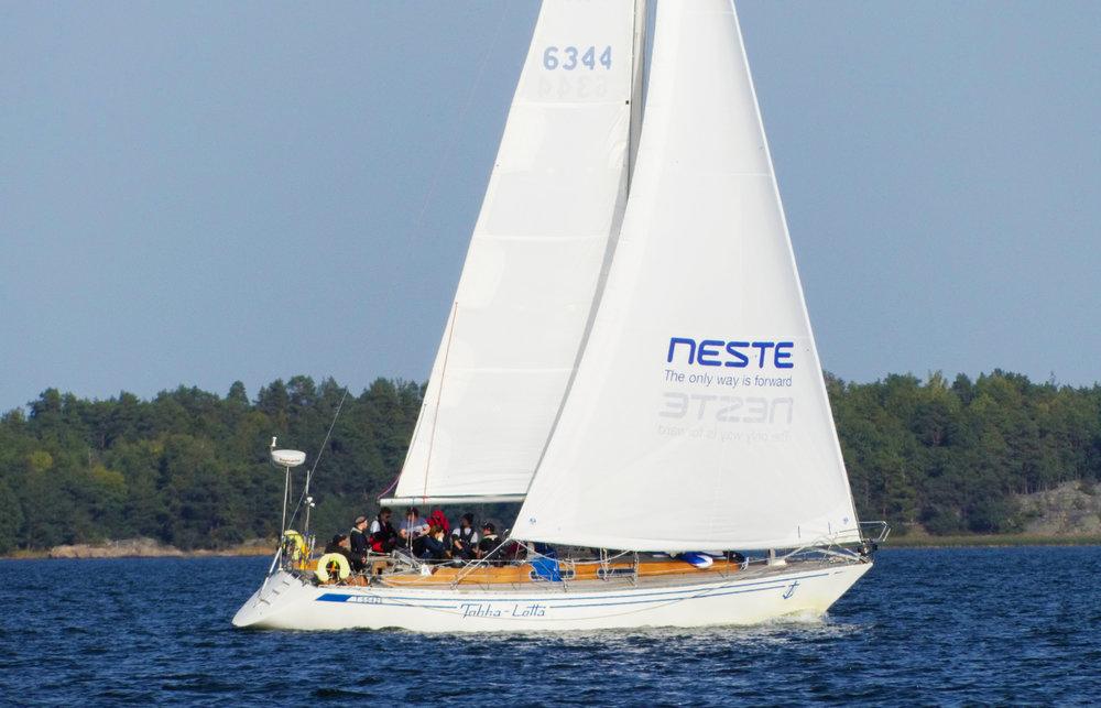 30 vuotta kestäneen taipaleensa aikana Tokka-Lotta II on seilannut Itämerta yli 70 000 meripeninkulman verran.