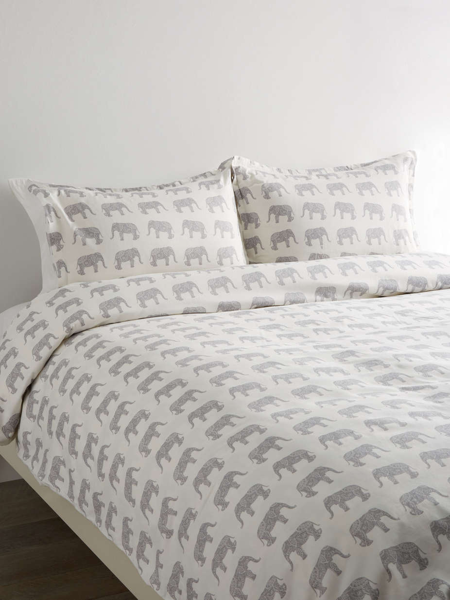 203406 T400 Cotton Elephant Duvet Set_Grey.jpg