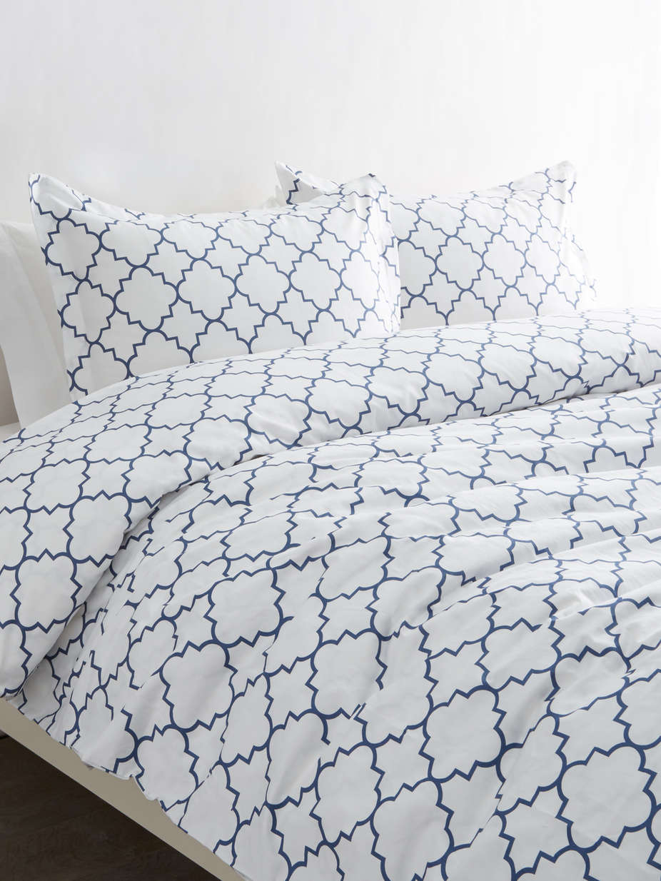T400 Cotton Lattice Duvet Set_Navy.jpg