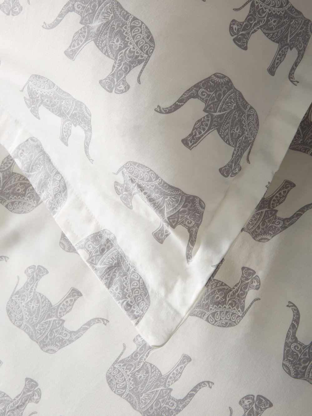 203406 T400 Cotton Elephant Duvet Set_Grey_Detail.jpg