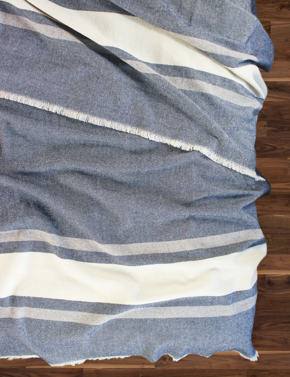 Woodland Stripe Wool Blend Blanket_2.jpg