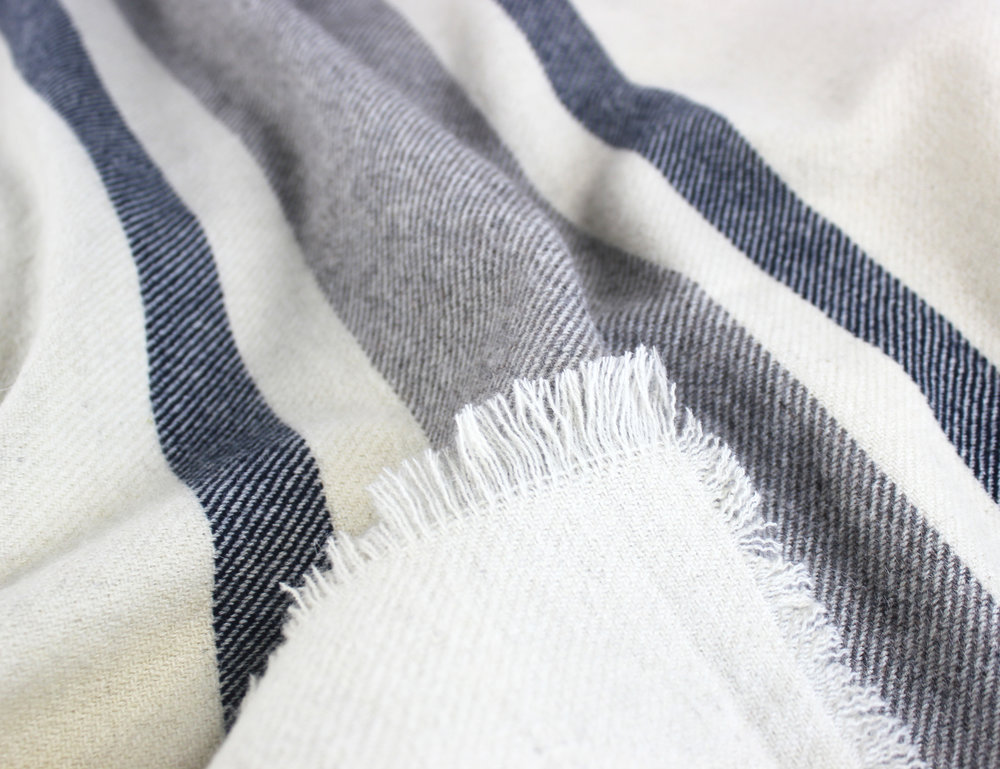 Woodland Stripe Wool Blend Blanket_Natural_Detail 2.jpg