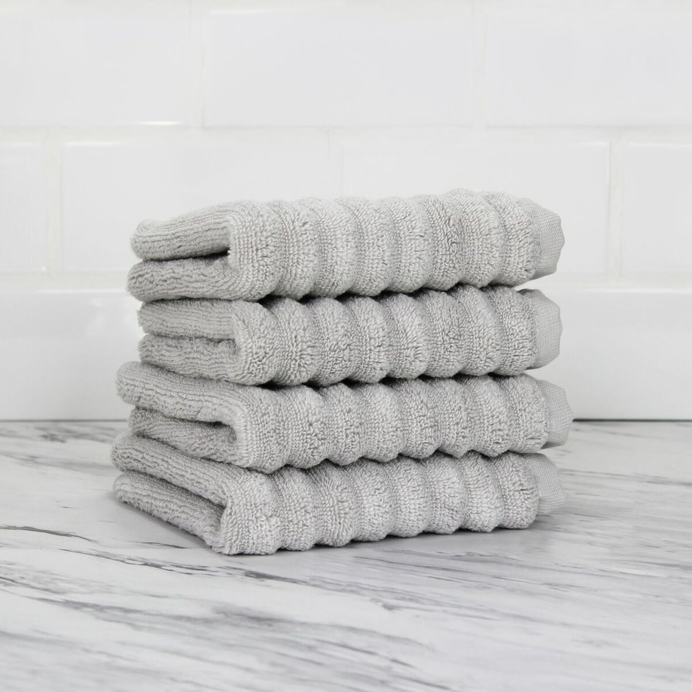 216802 100% Turkish Zero Twist Cotton 4pc Wash Towel Set_Pebble Grey.jpg