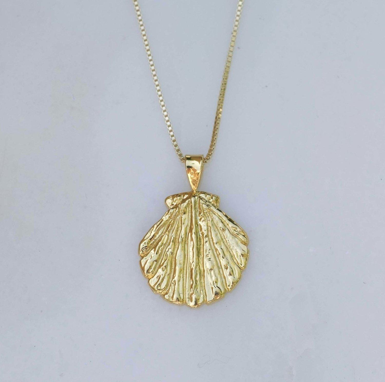 6a32ae34323609 Aphrodite Shell Necklace — Rosalie Jade Jewelry