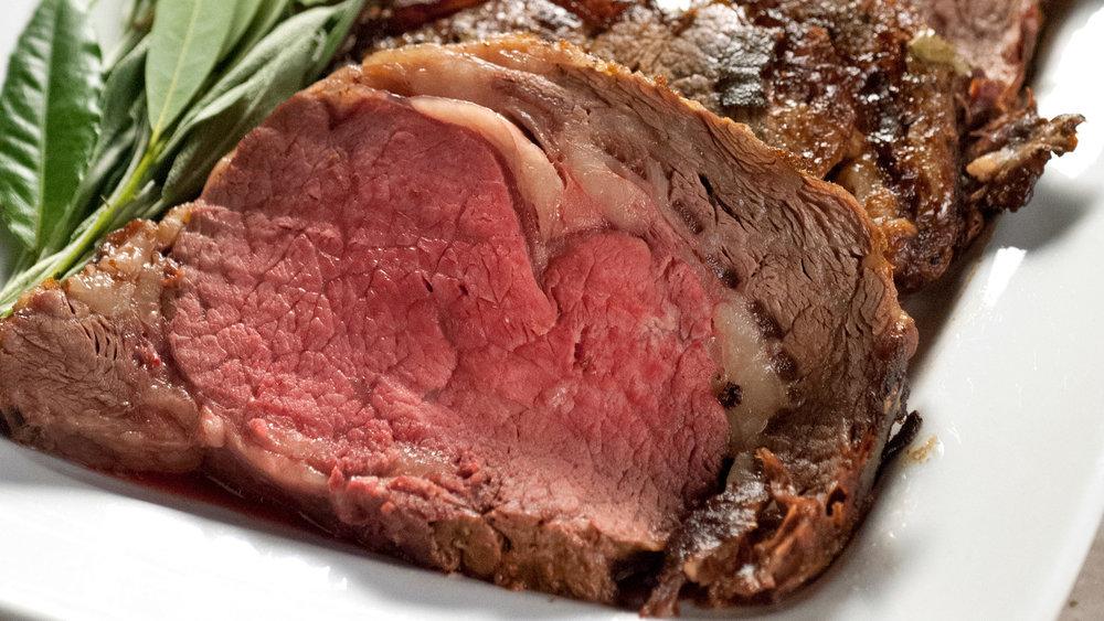 Prime Rib Dinner -