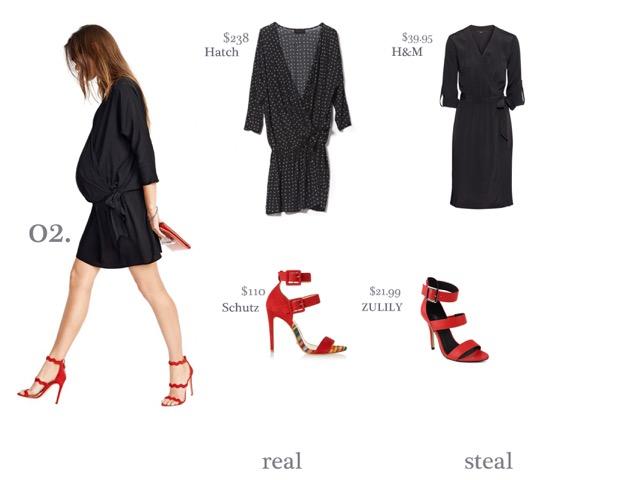 BumpDay- Black Dress
