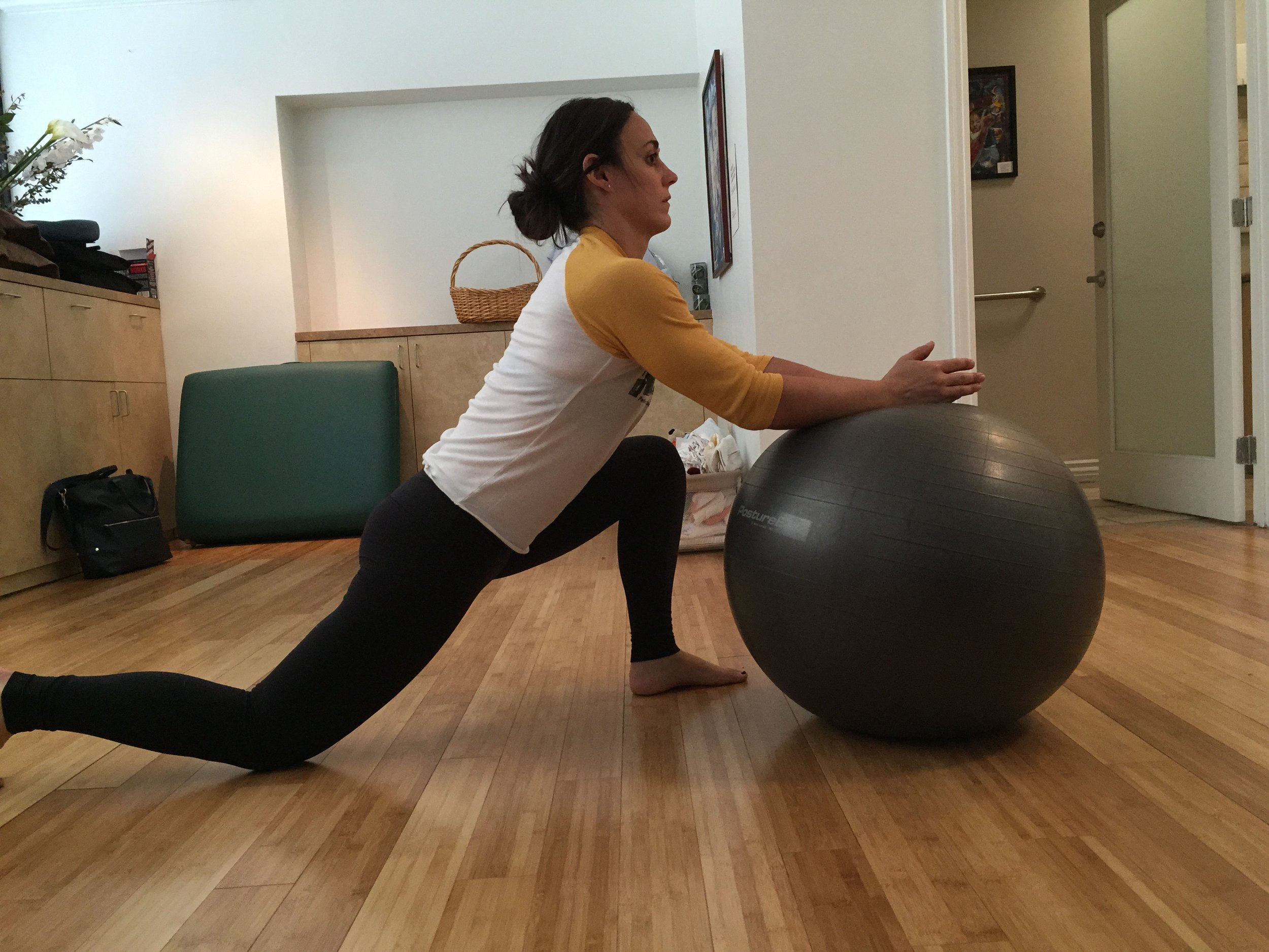 Lindsey-Physio Ball 2