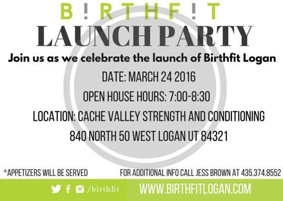 BIRTHFIT Logan- Jess Brown- Launch Party