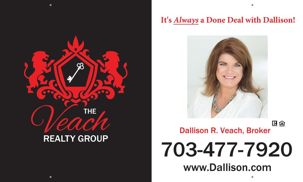 VEACH REALTY GROUP | (703) 477-7920 | WWW.DALLISON.COM