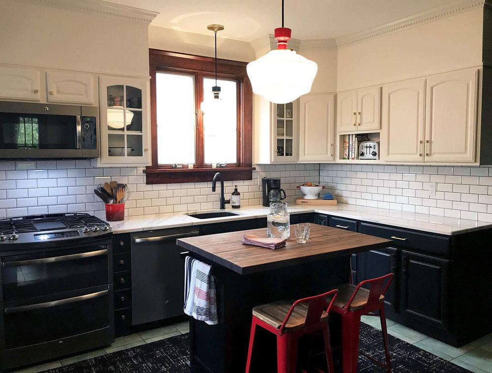 Nyack Colonial Kitchen Renovation