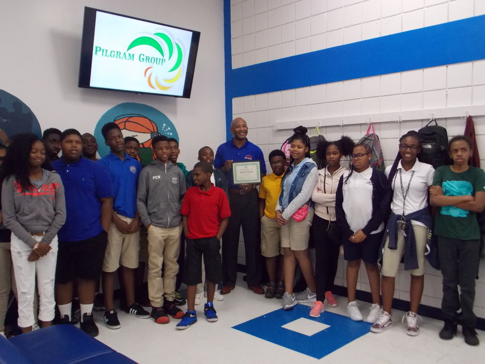 THE PILGRAM GROUP & THE BOYS AND GIRLS CLUB OF BROWARD COUNTY - Miguel was a guest speaker who had the opportunity to speak at the Role Models Who Inspire Program at the local Boys and Girls Club Chapter.