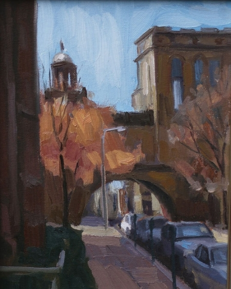 """Fall Tree, New Haven"" -Frank Bruckmann"