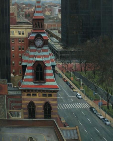 """""""Clock Tower"""" -Frank Bruckmann"""