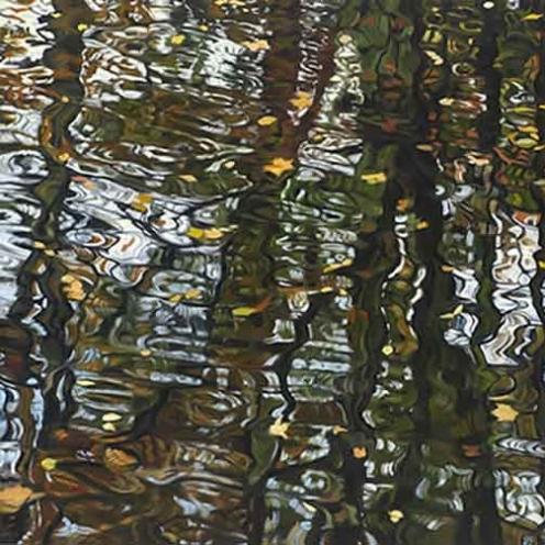 """""""Saugatuck"""" by John Harris -  Oil on Linen"""
