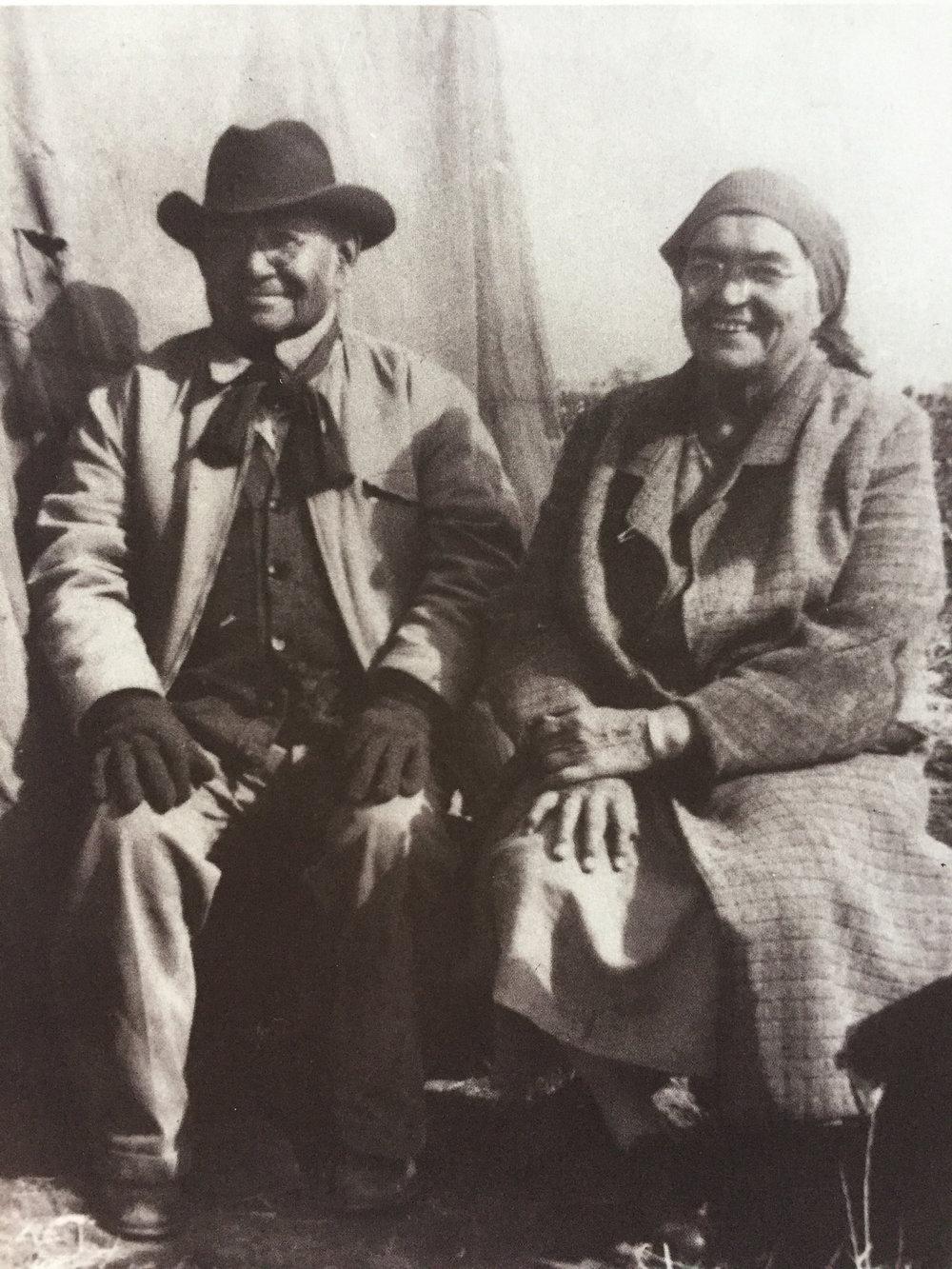 Blossom Haozous, Chiricahua Fort Sill Apache (1893-1981