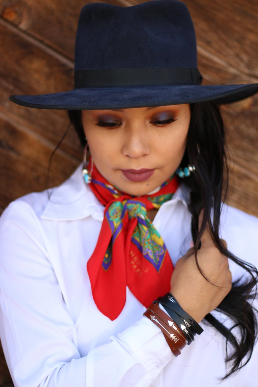 make up artist: Kay begay -