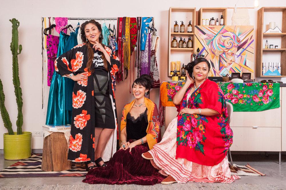 Models: - Kim Gleason,Kalika Tallou, &Jaime Gloshay