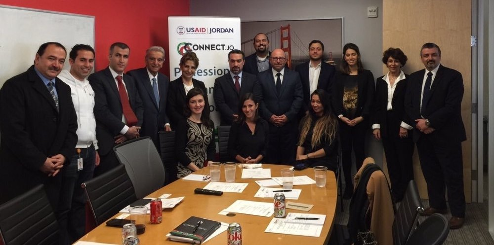 Connect.JO & 500 Startups Host Ambassador Bouran in San Francisco CA. March 11, 2016