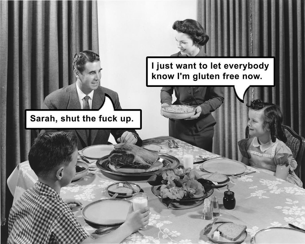 """This is labeled on the internet as """"Don't Be Like Sarah."""""""