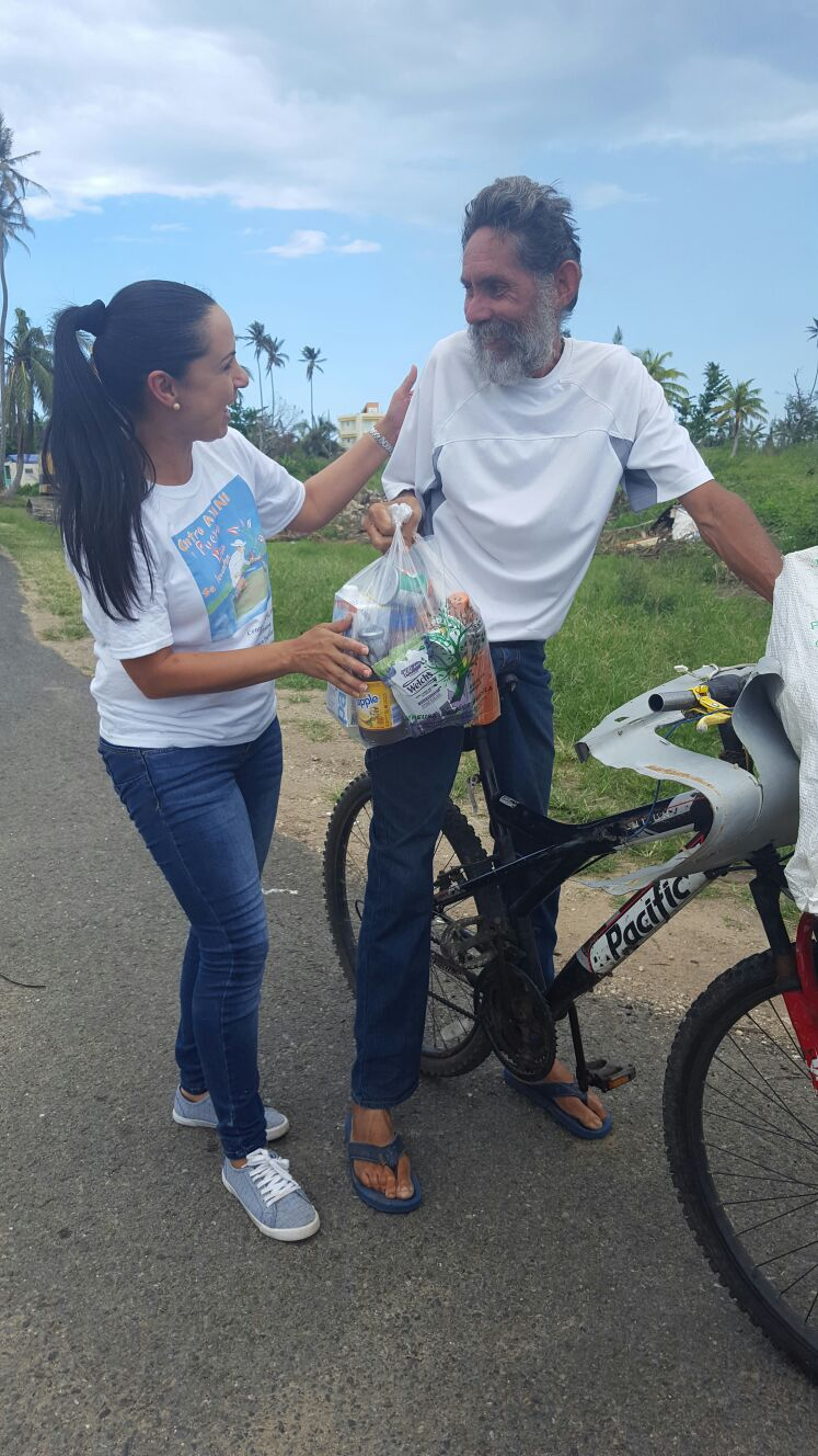 Distribution by Centro Yani in Moca, Aguada, Rincon and Añasco