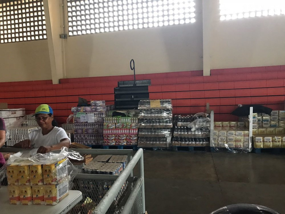 Setting up a distribution center in Toa Alta
