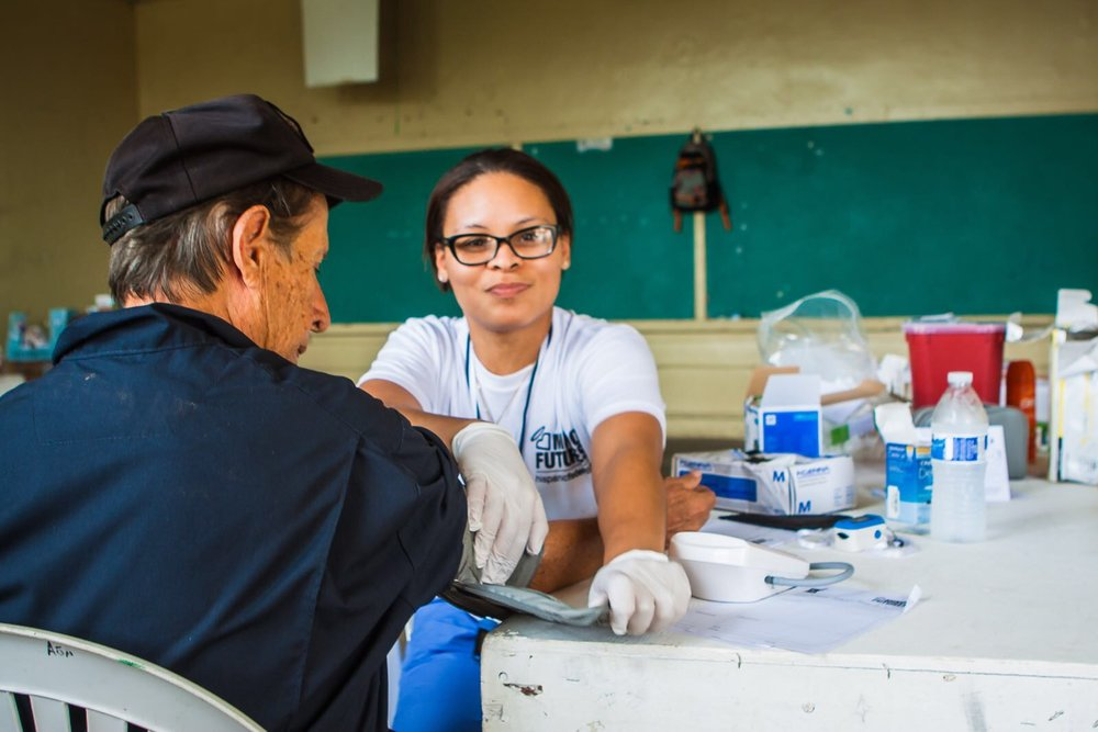 Medical mission to Ponce (La Carmelita, Guaraguao and Raices) with Mindu Futures