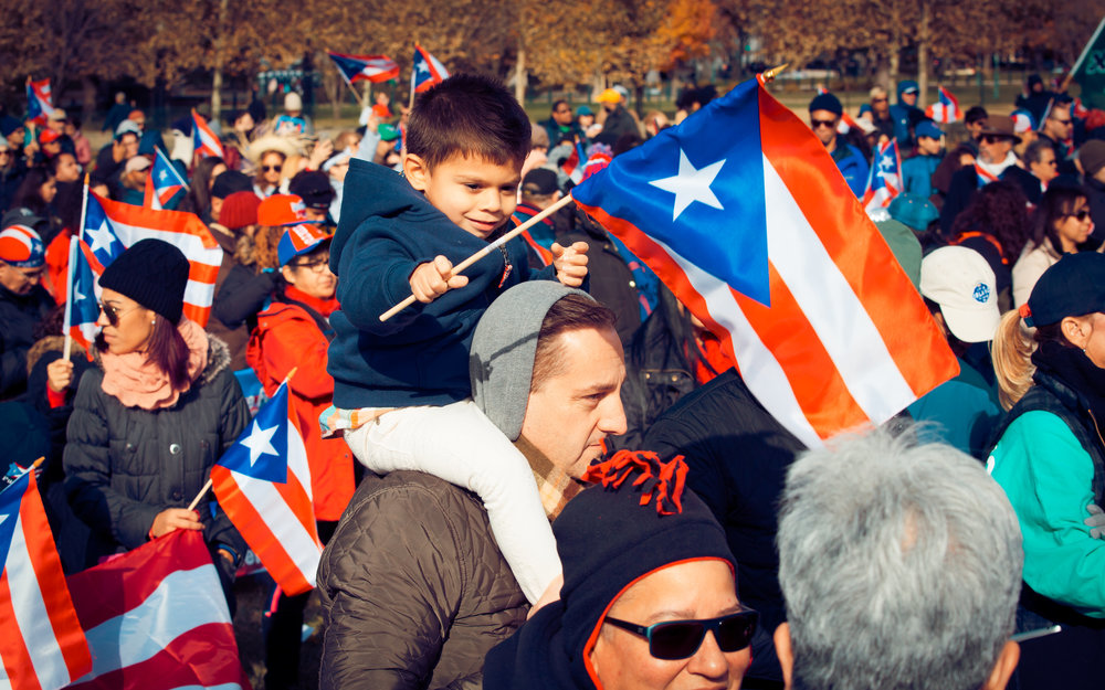 Unity March for Puerto Rico (photo courtesy of Box of Dreams Photography)
