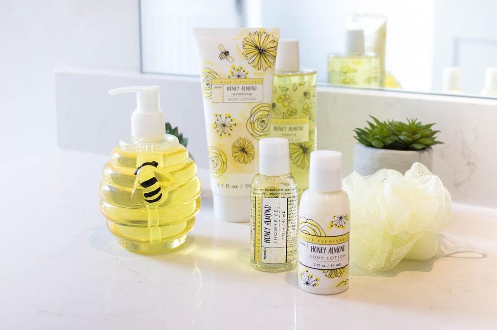 Honey Almond Bee Bath & Body Collection .jpg