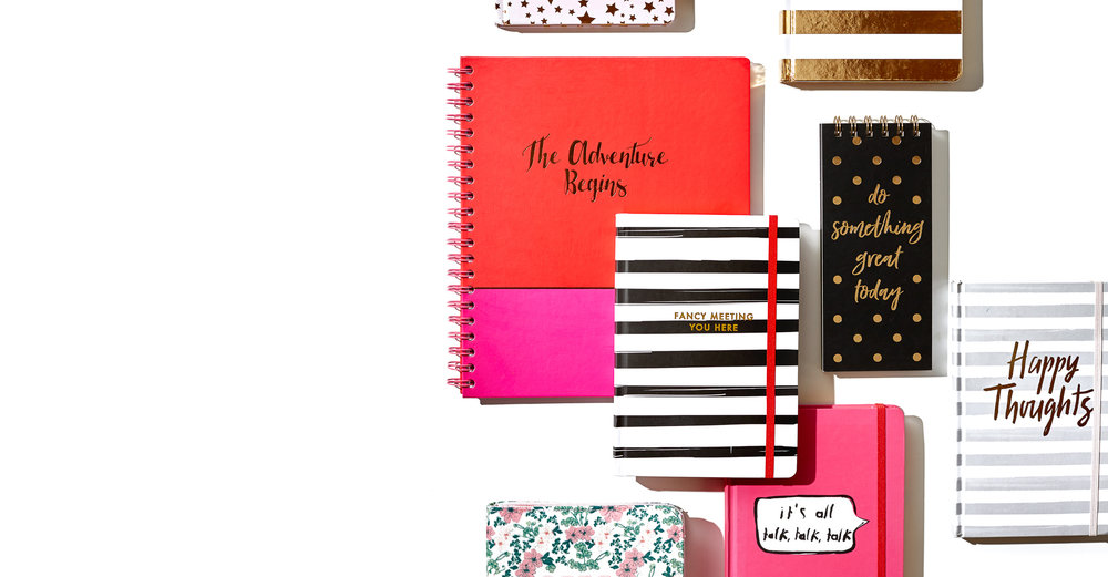 stationary - agendas, notebooks, journals, memo pads & stationary sets