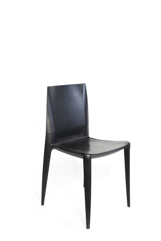 Black belini dining chairs qty. 12