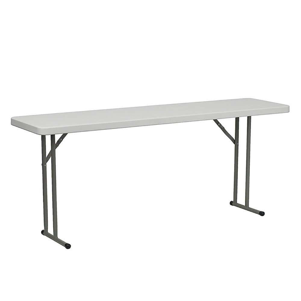 "18"" 6ft folding table qty. 2"