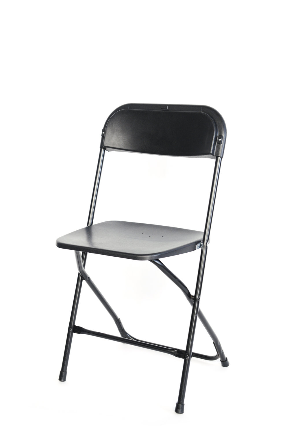 Black folding chairs qty. 30