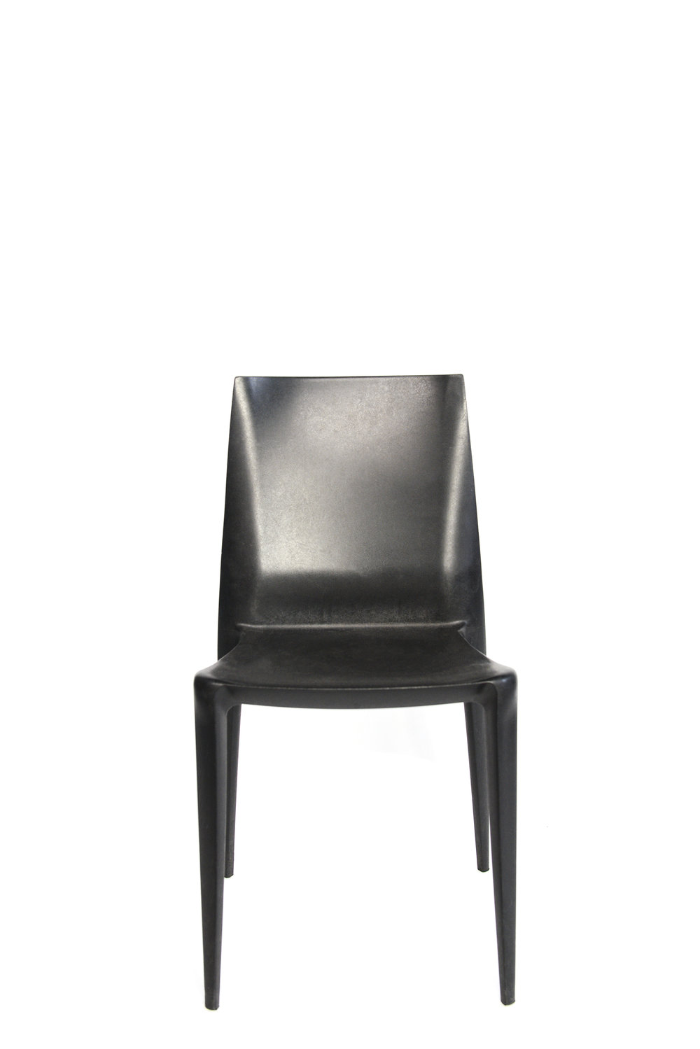 Black belini dining chairs qty. 12