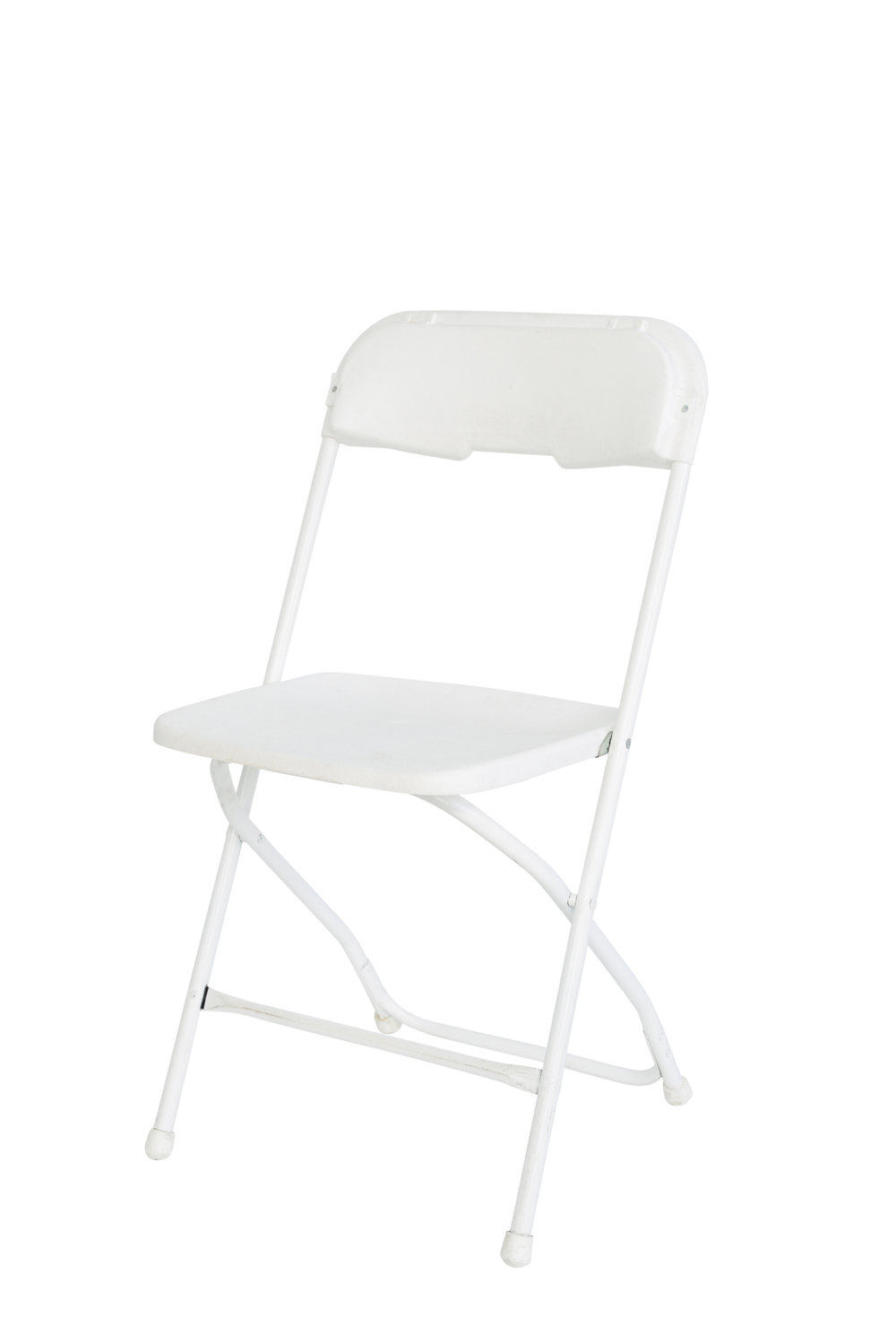 White folding chairs qty. 45